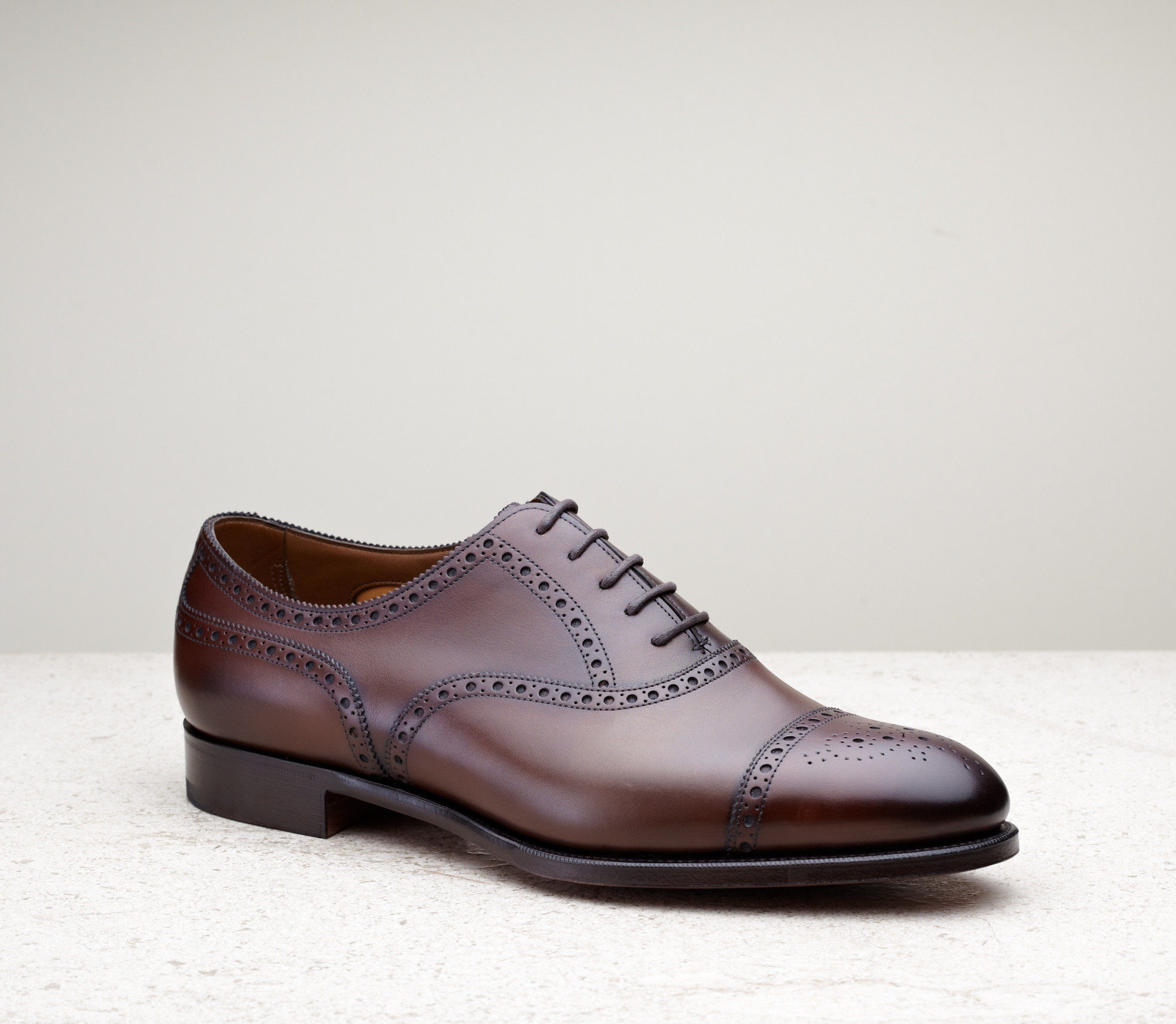 Continues Fashion Oxford Shoes