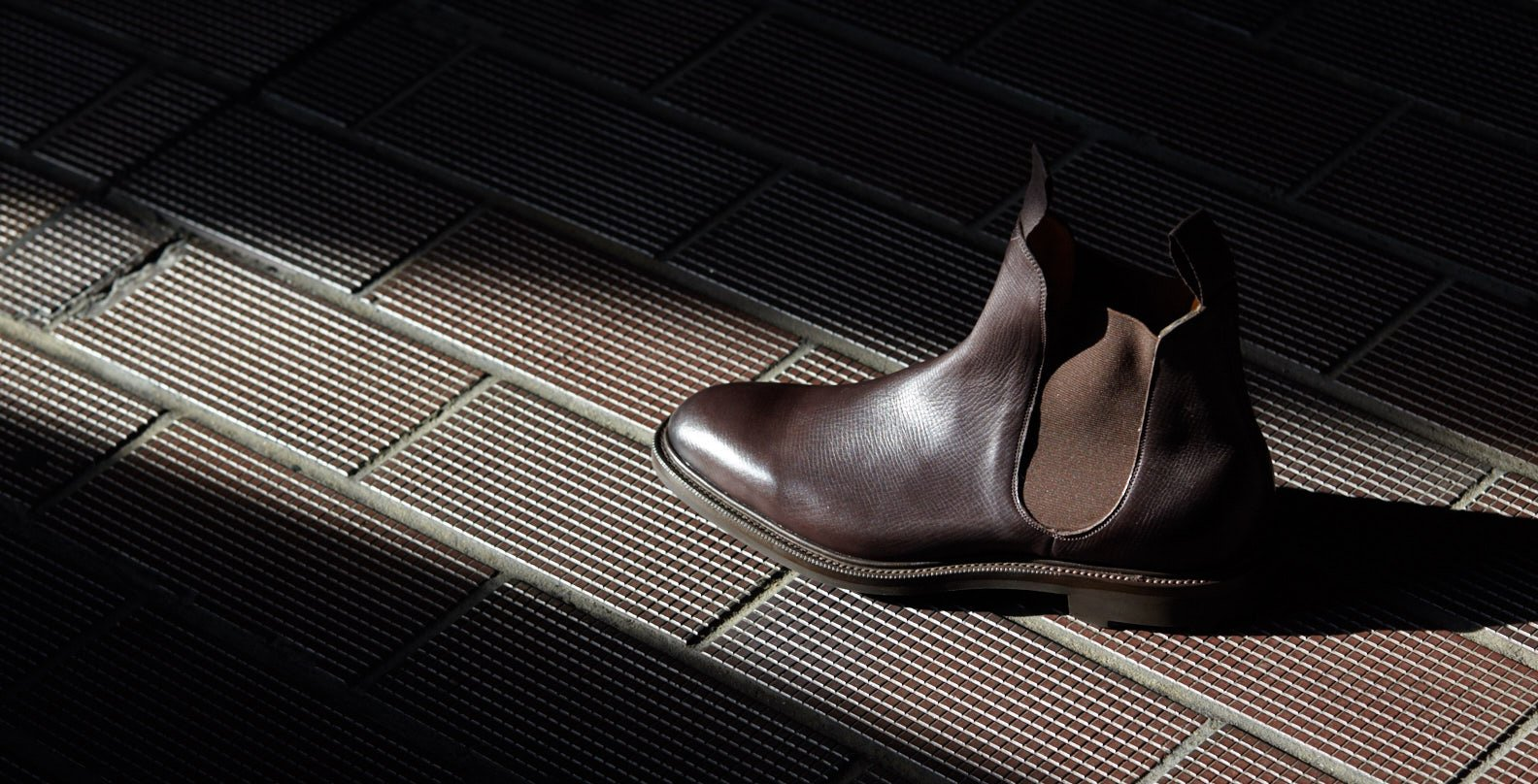 Discover Edward Green boots —the Newmarket chelsea boot